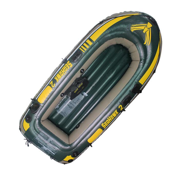 Лодка надувная Intex 68346 SeaHawk-2 Set 2-х местная 236х114х41