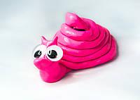 Умный пластилин Жвачка для рук Хендгам Ярко Розовый 25г (запах вишни) Украина Supergum