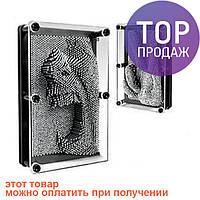 Подарок Пин арт Гвоздики 3D, pin art 3d, экспресс-скульптор гвозди ART-PIN, маленькие / оригинальный подарок
