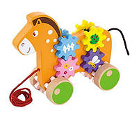 "Игрушка-каталка ""Лошадка"" (50976), Viga Toys"