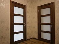 Двери межкомнатные деревянные(ясень)