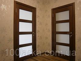 Двері міжкімнатні дерев'яні(ясен)