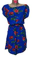 Платье женские резинка розы (лето)