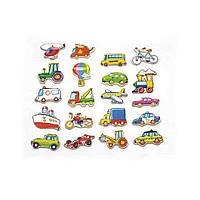 "Набор магнитных фигурок ""Транспорт"" 20 шт. (58924VG), Viga Toys"