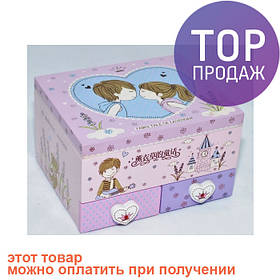 Шкатулка детская ДТ730-11 / Интерьерные аксессуары