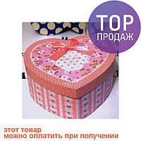 Подарочная упаковка Сердце (розовая) / Пакеты для подарков