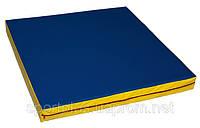 Мат спортивный гимнастический (1м*1м*100 мм)