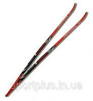 Лыжи беговые спортивные STС пластиковые размер 175 см. Россия