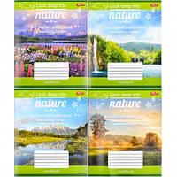 Тетрадь цветная 24 листа, линия «Природа… (арт.2288л)
