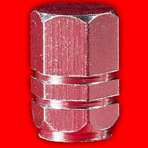 Колпачки на нипель Lesko 13-2C/191 Серебро для камеры насоса нипеля колеса volkswagen toyota skoda, фото 3