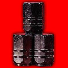 Колпачки на нипель Lesko 13-2C/191 Черный колеса автомобиля велосипеда насос шина камера volkswagen skoda