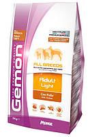 Gemon (Гемон) Dog Light низкокалорийный корм для взрослых собак всех пород, 3 кг