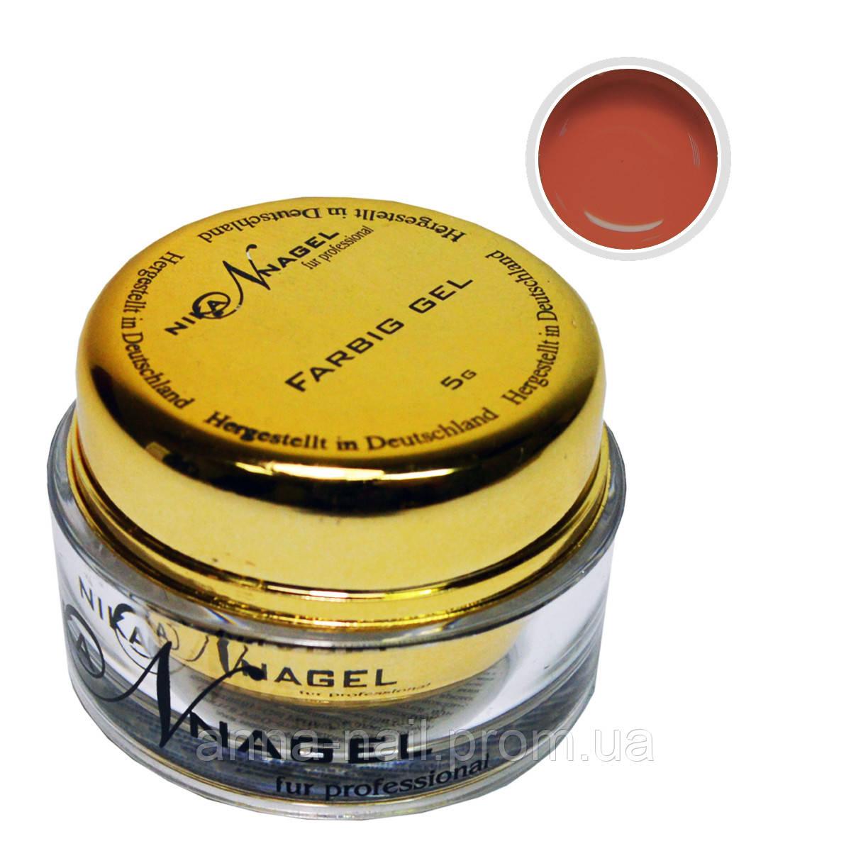 Гель для китайской росписи NIKA NAGEL Молочный шоколад K4 коричневый, 5 г
