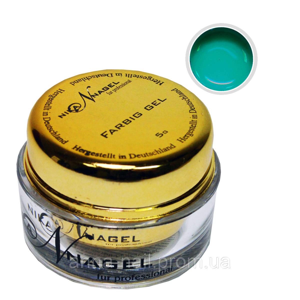Гель для китайской росписи NIKA NAGEL Мохито K20 зеленый, 5 г