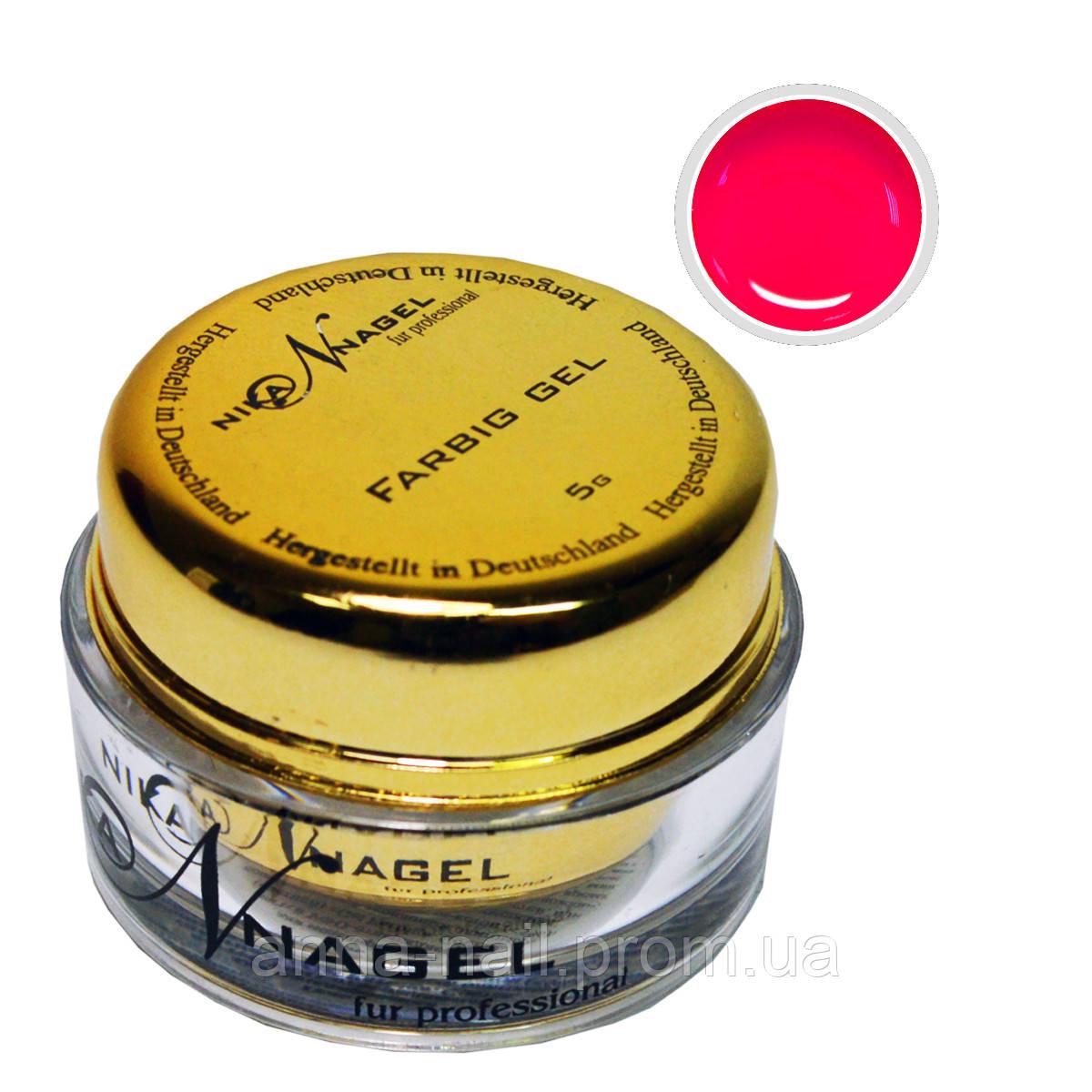 Гель для китайской росписи NIKA NAGEL Лакомка K41 красный, 5 г