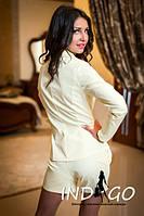Женский костюм шорты+пиджак на подкладке мг071, фото 1