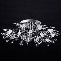 Галогенная люстра с диодной подсветкой (лампочки в комплекте) P5-Y0614/16 CH/LOW