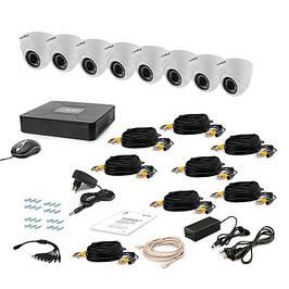 Системы видеонаблюдения и комплектующие