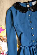 Платье с бархатным воротником ASOS, фото 2