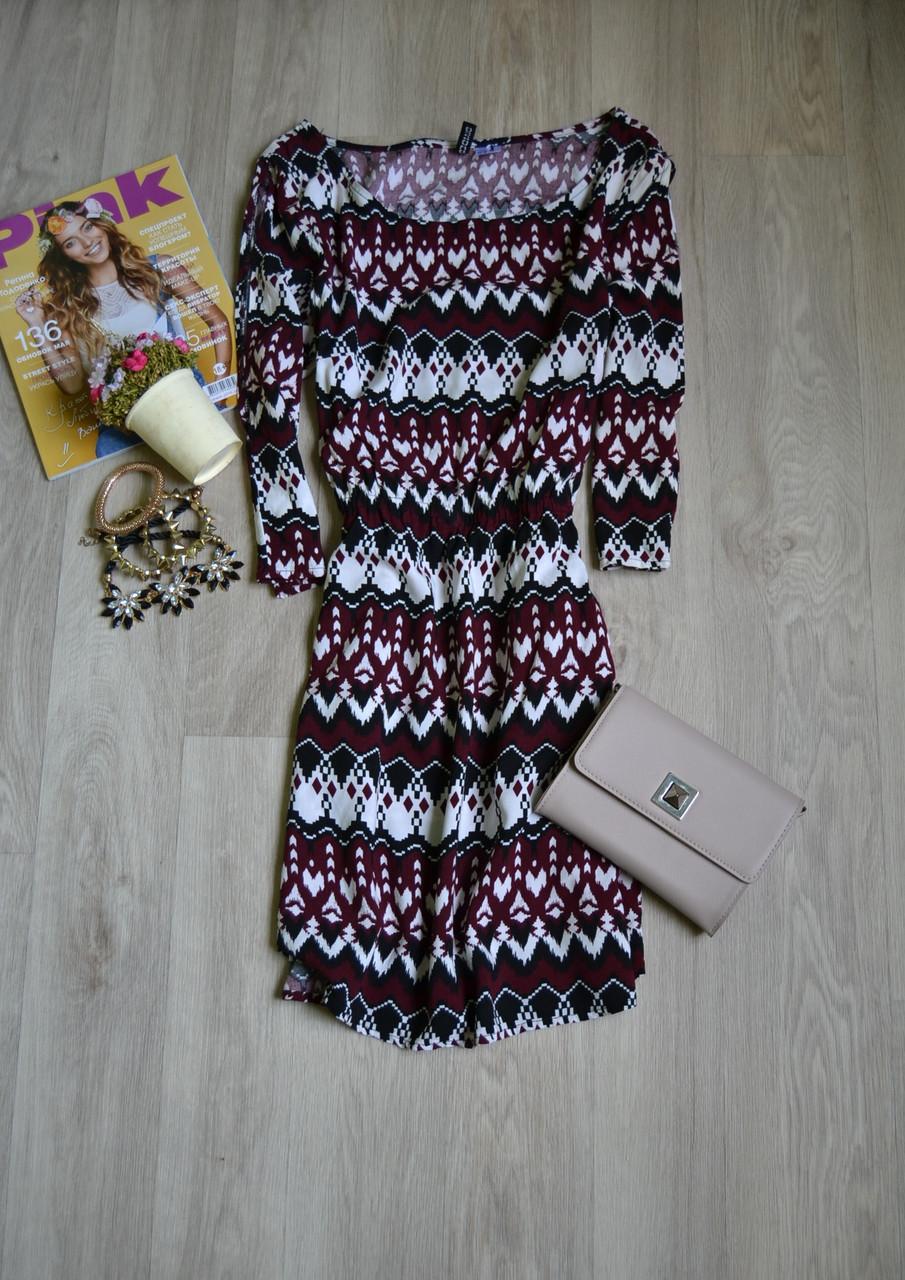 Короткое платье с вырезами на плечах H&M