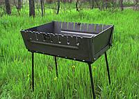 Мангал чемодан на 6, 8, 10, 12 шампуров раскладной жаровня гриль