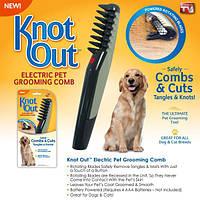 Расческа чесалка для кошек и собак Knot out!Хит