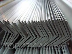 Алюминиевый уголок 20х6х1.5 мм АД31Т1 разносторонний (анод.)