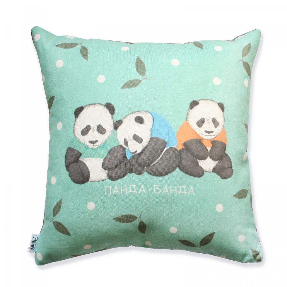 Подушка Панда-Банда - Купи Слона - магазин хорошего настроения и радости, шуток и улыбок в Киеве