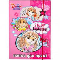 Папка для труда картонная А4 «Dora» P-A4-LD-4 ПП04/17 Mandarin