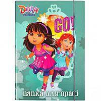 Папка для труда картонная А4 «Dora» P-A4-LD-2 ПП04/15 Mandarin