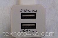 Зарядное устройство. 220 Вольт - Выход 2 USB-Порта, фото 1