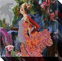 """Схема для вышивки бисером """"Танцовщица 2"""""""