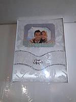 Свадебный фотоальбом со стразами