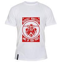 Модная летняя мужская футболка WorkOut power