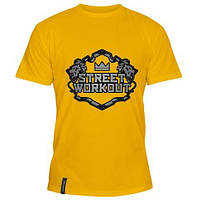 Модная летняя мужская футболка Street WorkOut