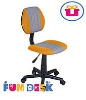 Детское компьютерное кресло FunDesk LST4 Yellow-Grey
