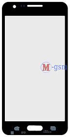 Корпусное стекло на  Samsung A300F, A300FU, A300H черное