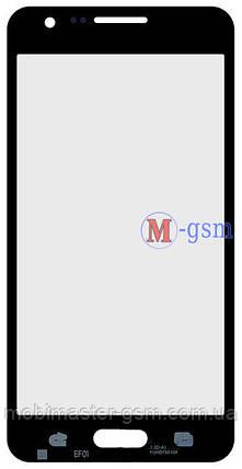 Корпусное стекло на  Samsung A300F, A300FU, A300H черное, фото 2