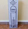 Стойка Blaumann BL-3157 для туалетной бумаги с ершом напольная
