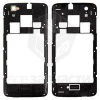 Задняя панель корпуса для мобильного телефона Fly IQ4414 Quad, черная,