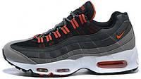 Мужские кроссовки Nike Air Max 95 Grey/Orange