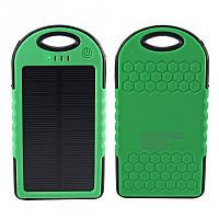 Водонепроницаемый PowerBank Solar Charger 5000mAh на солнечной батарее