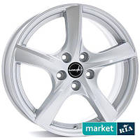Литые легкосплавные диски Borbet TL Brilliant-Silver (R15 W6 PCD5x112 ET43 DIA57.1)