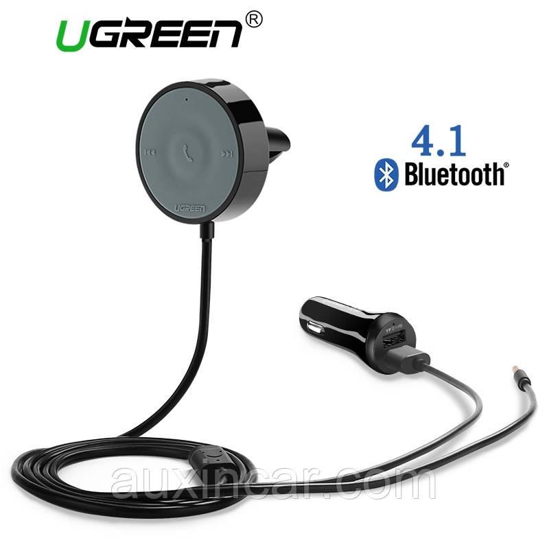 Bluetooth car kit для любого авто с функцией AUX на магнитоле