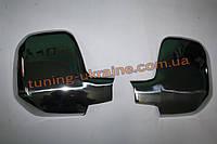 Накладки на зеркала Carmos на Peugeot Partner 2008