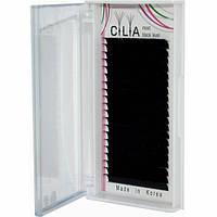 Ресницы Cilia Поразмерно Черные (20 Линий)