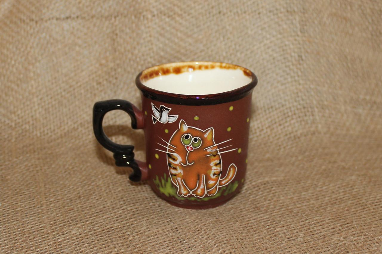 """Чашка кофейная 150мл """"Кот рыжик"""""""