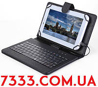 Чехол-клавиатура 7-8 дюймов USB-microUSB черный