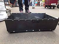 Мангал-чемодан на 8 шампуров | 2мм