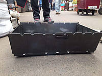 Мангал-чемодан на 10 шампуров | 2мм